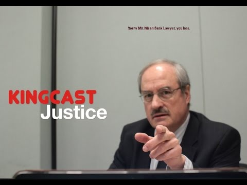 KingCast First Amendment Trumps Kristina Robinson and Nasty Bank Lawyer