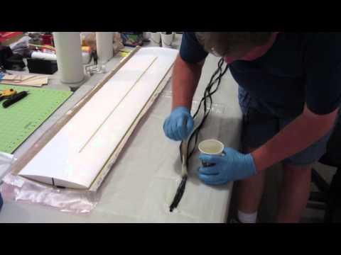 Sheeting a Quickie Wing with a Carbon Fiber Leading Edge