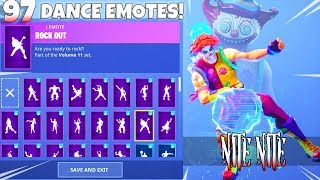*NEW* NITE NITE The Clown SKIN With DANCE EMOTES! SHOWCASE (Bass Boosted) Fortnite Battle Royale