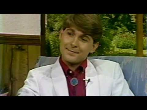 Vintage TV Interview - Randall Franks & Teresa Smith - 1989