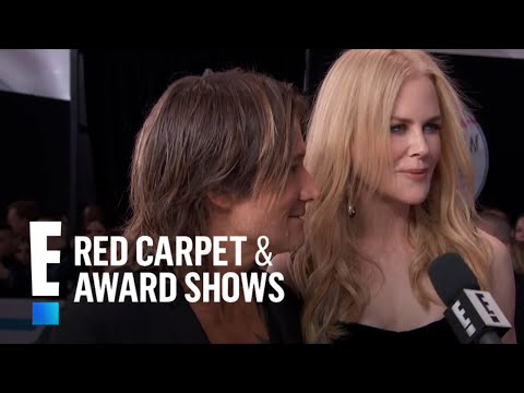 Keith Urban Talks Nicole Kidman Duet at 2017 AMAs  E! Live from the Red Carpet