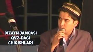 Dizayn jamoasi - QVZ-dagi chiqishlari | Дизайн жамоаси - КВЗдаги чикишлари