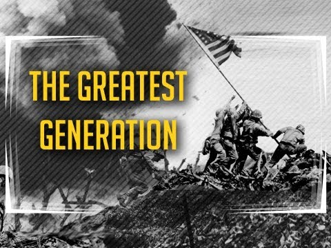 the greatest generation The greatest generation is a term sometimes used in reference to those americans who were raised during the great depression, fought in world war ii, worked in farms and factories and sacrificed for the war effort while maintaining the home front following the war, these americans, many of whom.