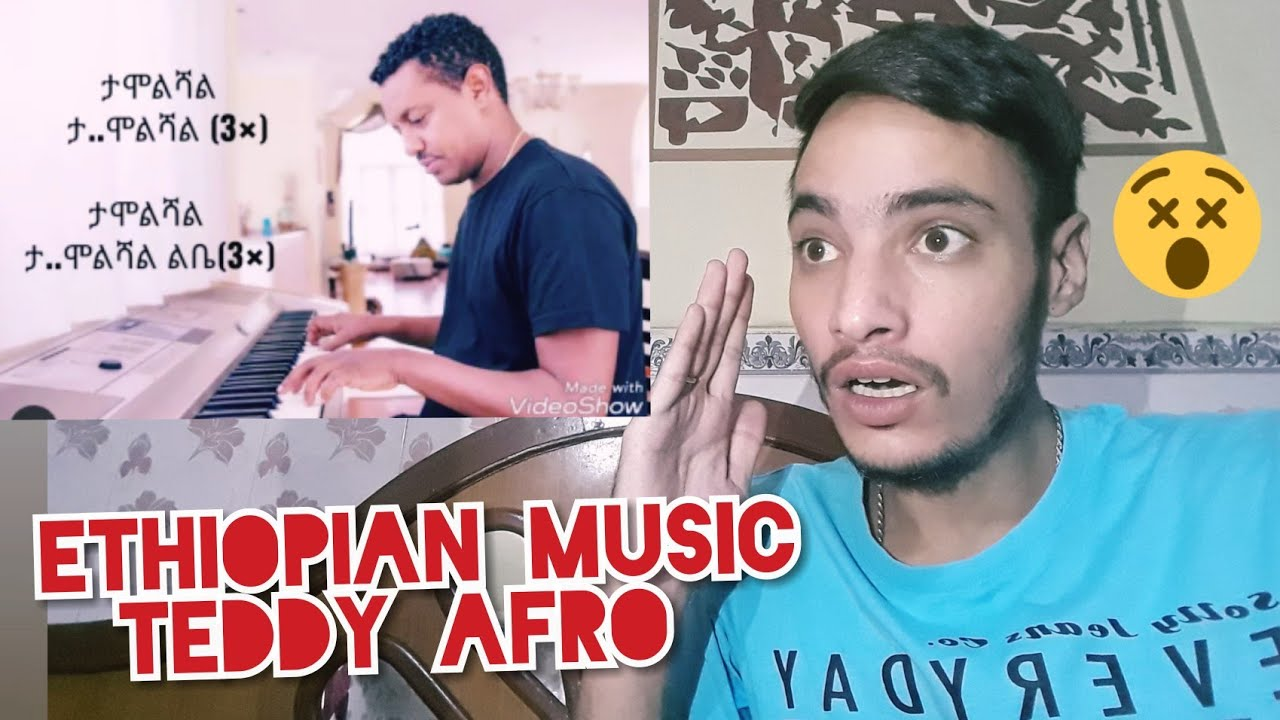 Indian Reacts to Ethiopian music teddy afro tamoleshal leba