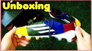 Unboxing: adidas f50 adizero fg messi