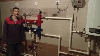 видео Проектирование и установка отопления коттеджа