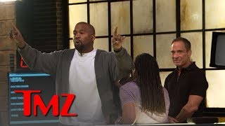 Kanye West Stirs Up TMZ Newsroom Over Trump, Slavery, Free Thought | TMZ thumbnail