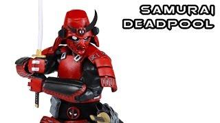 Custom SAMURAI DEADPOOL Marvel Legends Action Figure Review