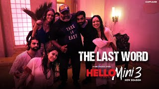 The Last Word - Hello Mini 3   Behind the Scenes   Anuja Joshi   MX Original Series   MX Player