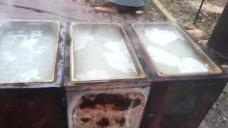 Diy Maple / Boxelder Sap Evaporator - Making Boxelder Syrup