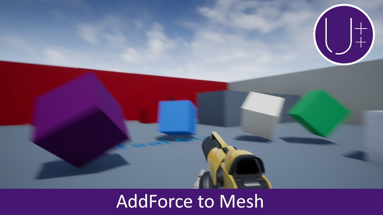 Unreal C++ | Add Force to Mesh