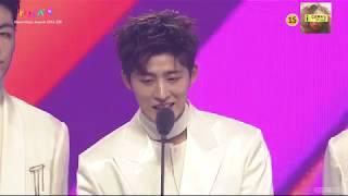 [ซับไทย] สปีชของไอค่อน - MMA Song of the Year Daesang - iKON LOVE SCENARIO @ 2018 MelOn Music Awards