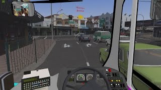 OMSI 2 Manly ACT TWO Route 143 Gameplay