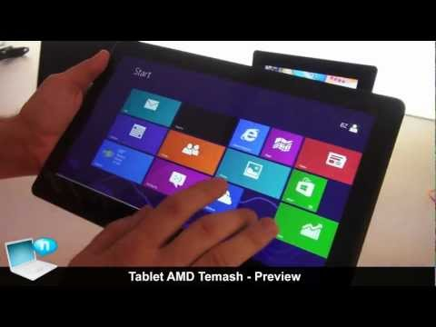Tablet AMD A4 e A6 Temash - Preview dal CES 2013