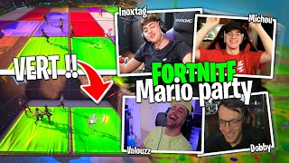Mini Croûton Game Show, map Mario Party sur Fortnite Créatif ! (Michou, Inox, Dobby, Samo et Flamby)