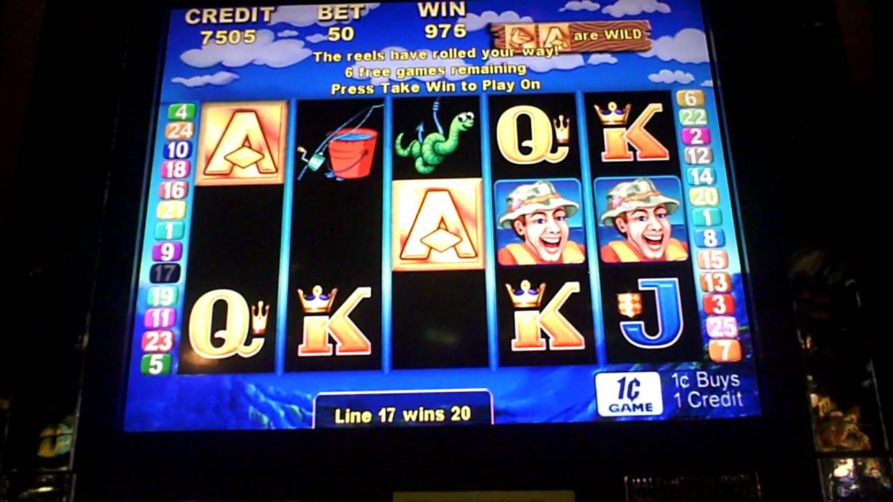 Let 39 s go fish 39 n slot machine bonus youtube for Fish slot machine