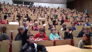 """KinderUniversiteit 20 nov 2013 """"Daar wordt aan de deur geklopt"""" Technische Universiteit Eindhoven"""