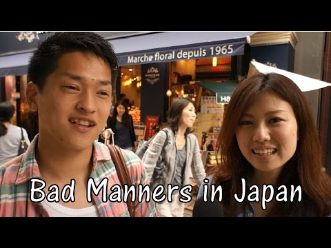 Don't be that Person in Japan - Bad Manners (Interview)