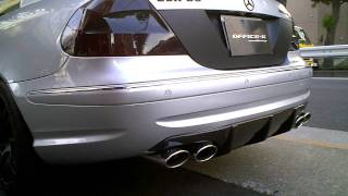 "Mercedes Benz W209 AMG CLK63 ""MIRACLE"" EXHAUST SOUND by OFFICE-K TOKYO"