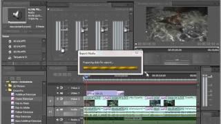 Как выводить готовый проект из Adobe Premiere Pro CS5.5