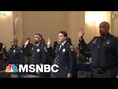 Capitol Police Officers Dismiss GOP Attempts To 'Downplay' Jan. 6 Attack