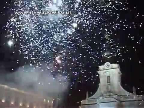 SYLWESTER 2014 na Placu Jana Pawła II w Wadowicach