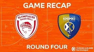 Highlights: Olympiacos Piraeus - Khimki Moscow region