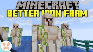 How to IMPROVE YOUR IRON FARM! - Minecraft 1.16+ Iron Farm Fixes & Improvements