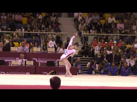 Morgan Hurd - Floor Exercise - 2018 World Championships - Events Finals