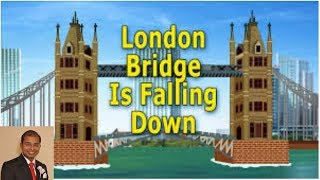 Mouth organ, music video for kids, nursery rhymes with lyrics, London bridge is falling down
