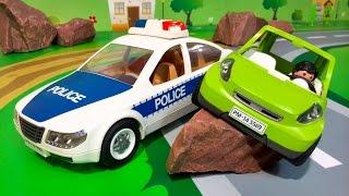 Новые мультики Про машинки для детей. Полицейская машинка - авария. Мультфильмы новые серии