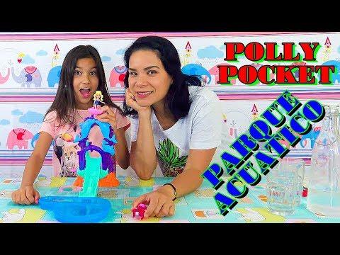 POLLY POCKET EN EL PARQUE DE AGUA | AnaNana Toys