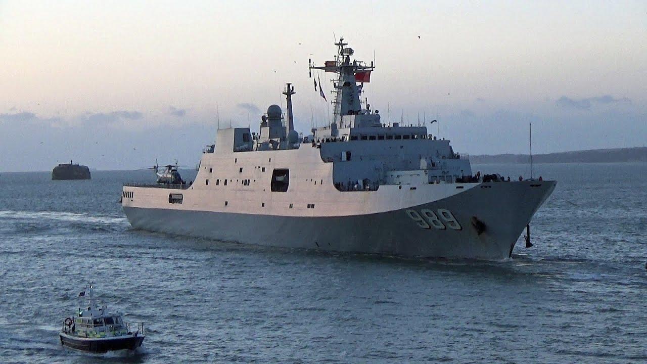 Modern Warfare Wallpaper Hd Chinese Navy Ship Plan Changbaishan At Portsmouth England