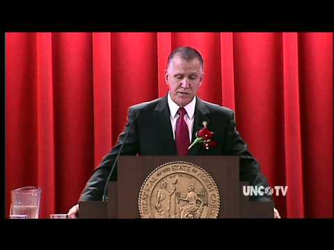 NC House Speaker Thom Tillis Speech on Opening Day of 2013 NC General Assembly | UNC-TV