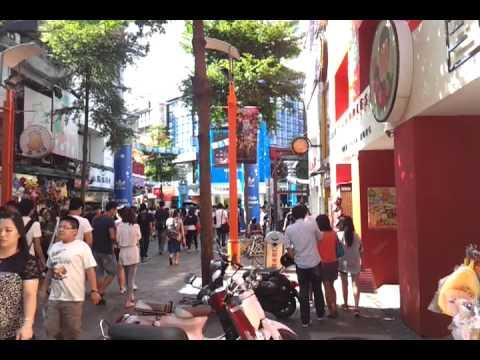 Taipei Xi meng ting, street view
