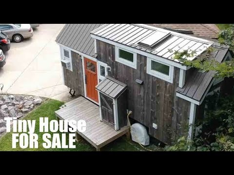 Luxury Tiny House For Sale Huge Loft Youtube