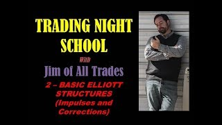 Trading Night School - Lesson 2 Psychology of Elliott Stucture - Impulses and Corrections