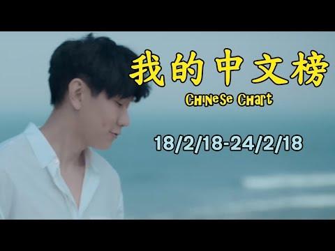我的中文榜二十大 My Chinese Chart Top 20 Songs (18/2/18-24/2/18)