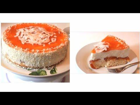 aprikosen torte mit joghurt einfach und lecker youtube. Black Bedroom Furniture Sets. Home Design Ideas