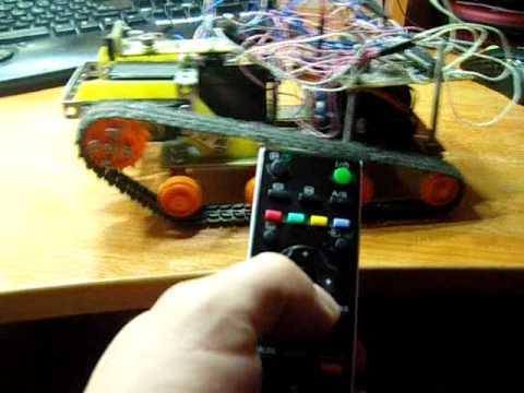 Управление роботом с ИК пульта