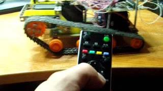 Управление роботом с ИК пульта (sony)