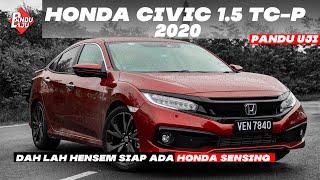 Pandu Uji Honda Civic 1.5 TC-P + Honda Sensing - Serius Lagi Mantap!