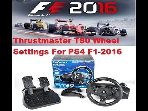 PS4 - How can I calibrate my Thrustmaster T80?? | Page 2
