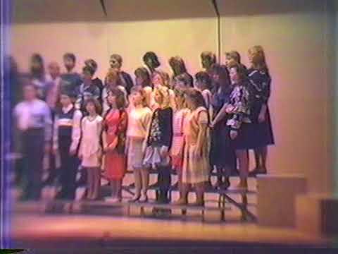 1988 Cochranton Elementary School   Christmas Program