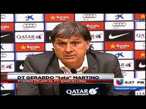Gerardo Martino abandona el banquillo Azulgrana