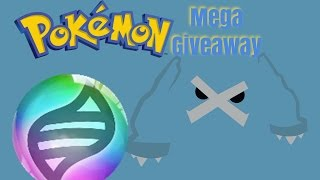 Roblox Project pokemon // Shiny Mega/Stone Rare Giveaway // No Legends - ENDED