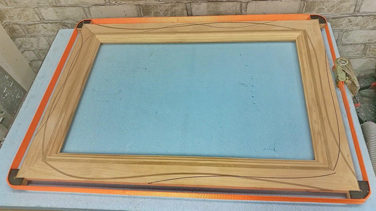 Изготовление рамок для фото фрезером
