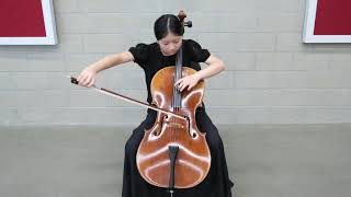 Irene Prelude of Bach's 6th Suite