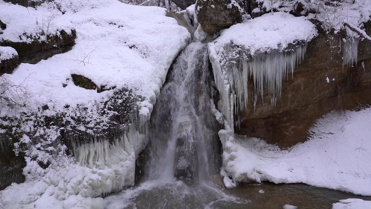 Водопад Наковальня. Ущелье Мишоко - YouTube
