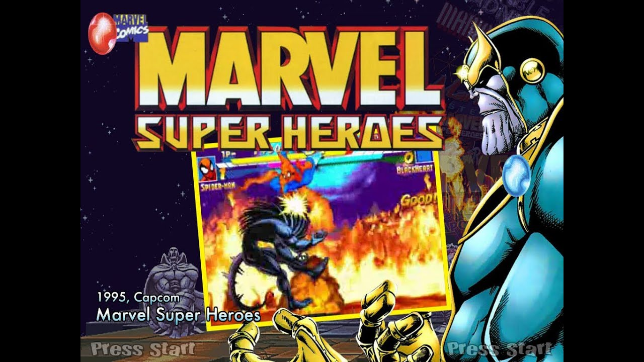 Marvel Super Heroes 60 Superhéroes: Marvel Super Heroes (Arcade)